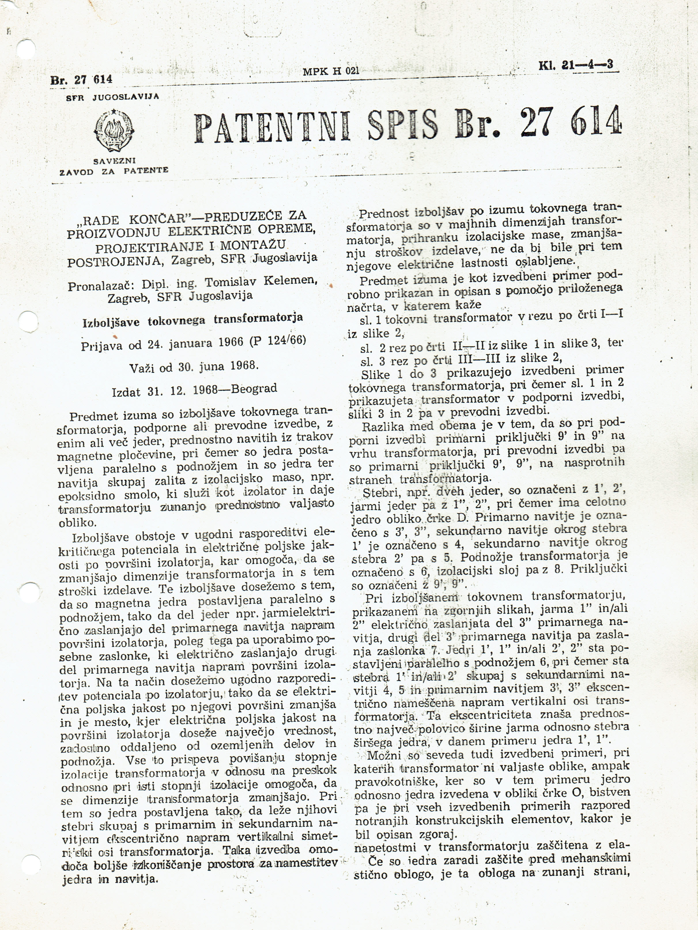 KELEMEN-PATENT-1