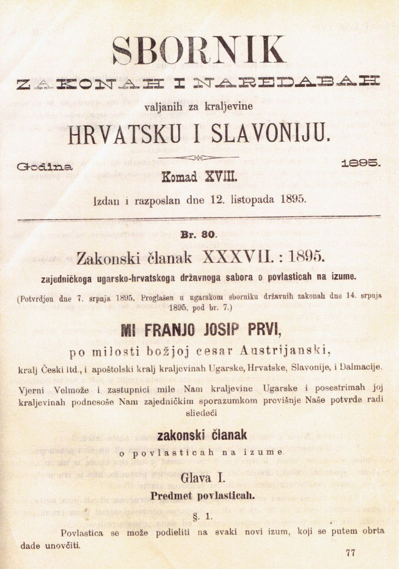 STARI ZAKON O IZUMIMA-3
