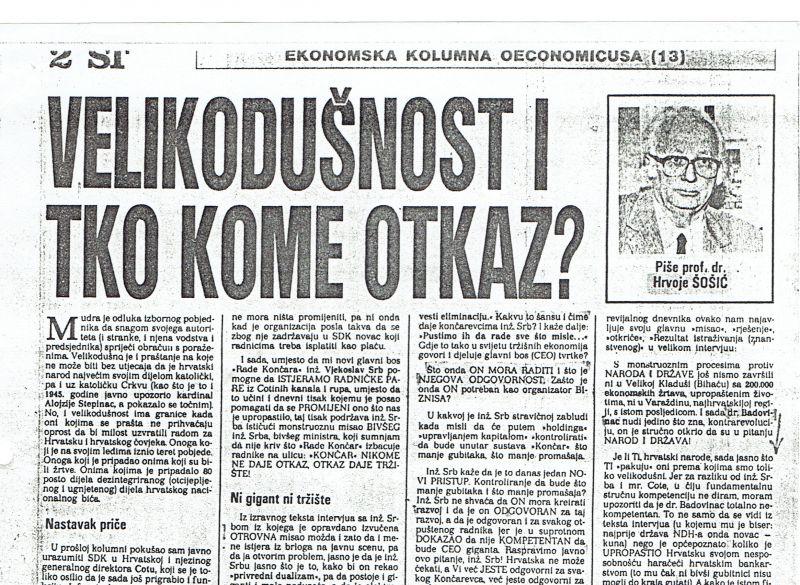 HRVOJE ŠOŠIĆ06082017