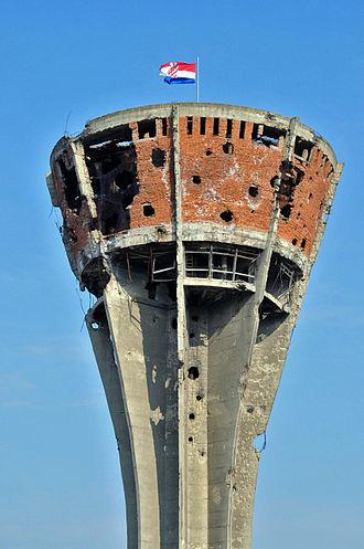 Vukovar-watertower-after-war