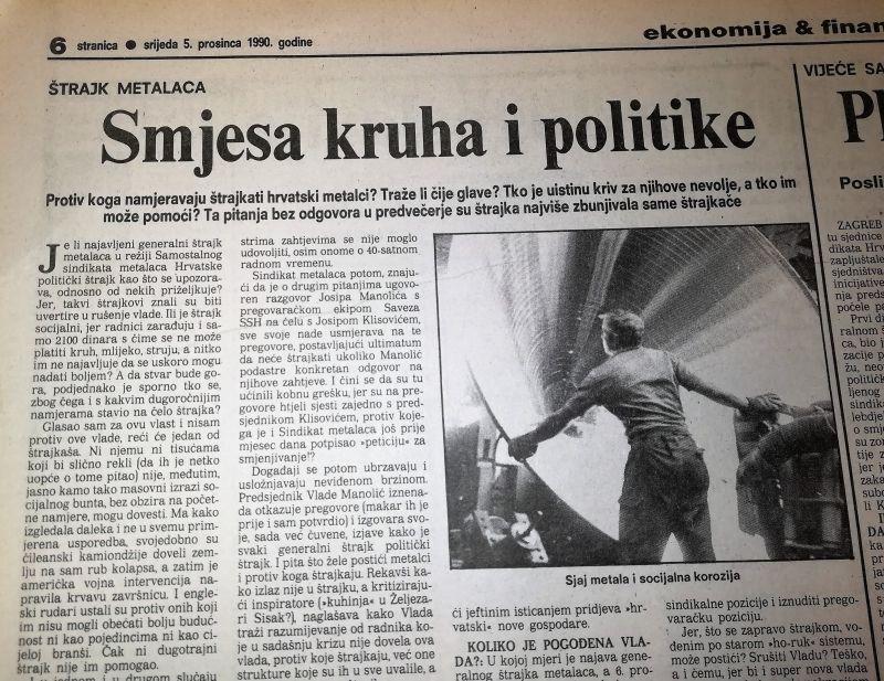 0. 3. ŠTRAJK METALACA-5.12.1990