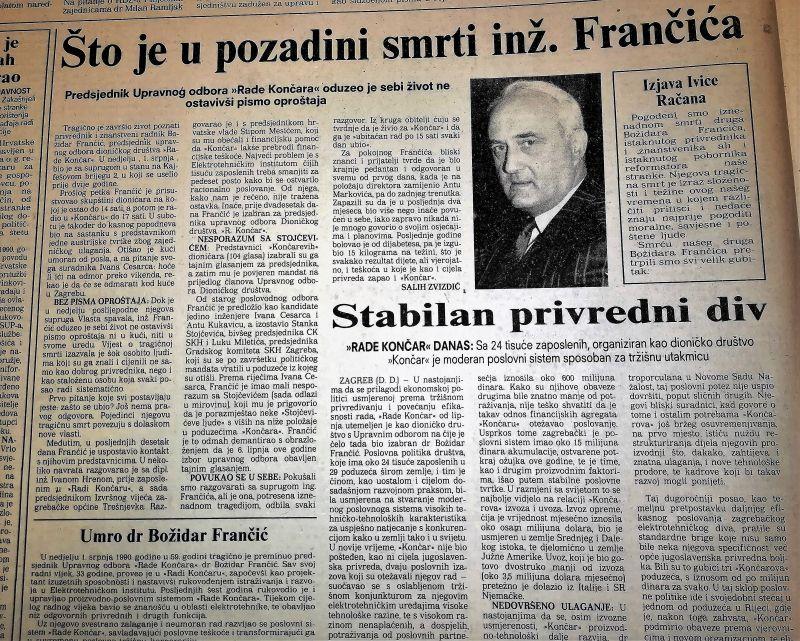 0. FRANČIĆ-VJESNIK-3.7.1990.-2