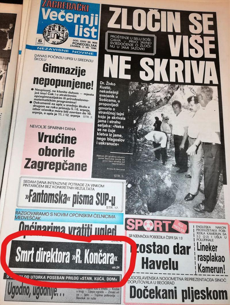 0. FRANČIĆ-VL-2.7.1990.-1_LI