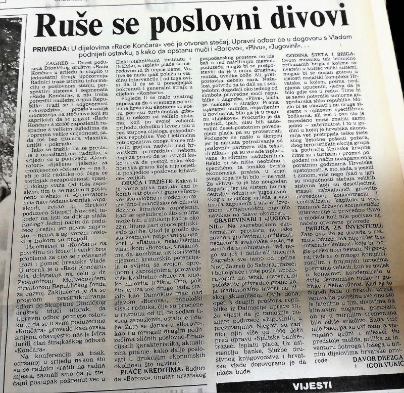 0. KONČAR-1.11.1990